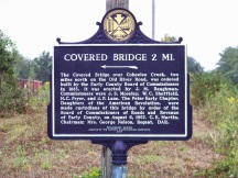 Coheelee Creek Bridge marker