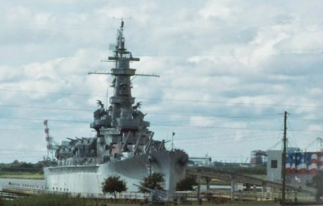 U.S.S. Alabama in Mobile